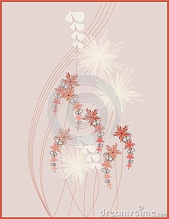 Picture design floral