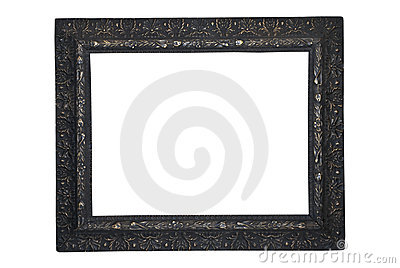 Picture Frame/Black/Antique
