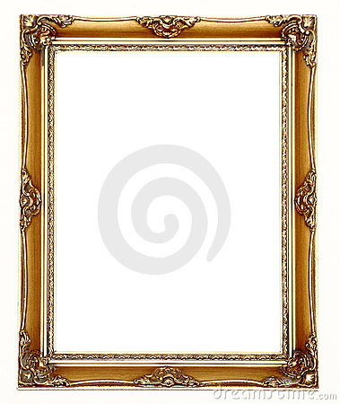 Free Picture Frame Gold Royalty Free Stock Images - 17811669
