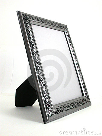 Free Picture Frame - Silver 01 Royalty Free Stock Photos - 1617768