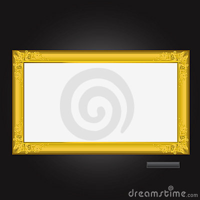 Free Picture Frame Vector 1 Stock Photo - 4469990