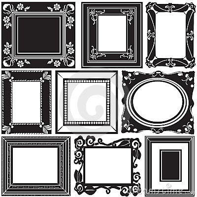 Free Picture Frame Vector Stock Photo - 4595150