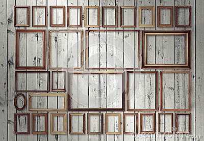 frames on wall royalty free stock images image 25102139