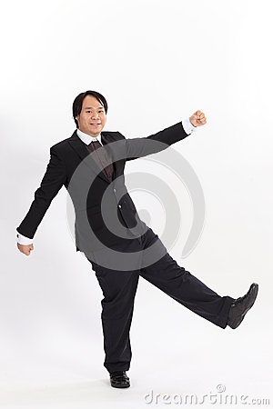 picture of funny business man