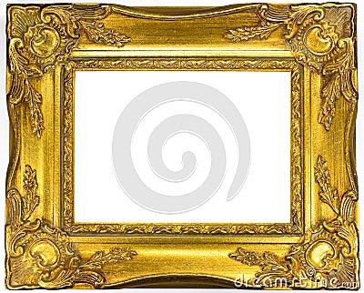 Picture golden frame