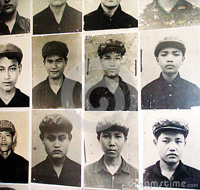 Picture of Khmer rouge killing fields Editorial Stock Image