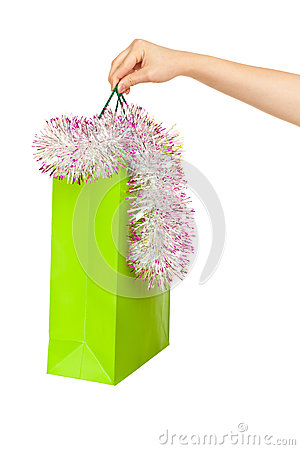 Picture of new year shopping bag