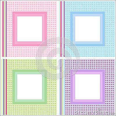 Picture / photo frames set