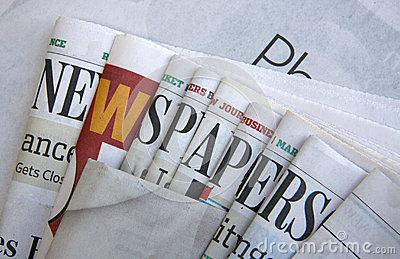 Unique Newspapers background