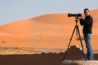 Pictures on the desert