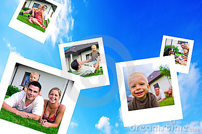 Pictures of happy family