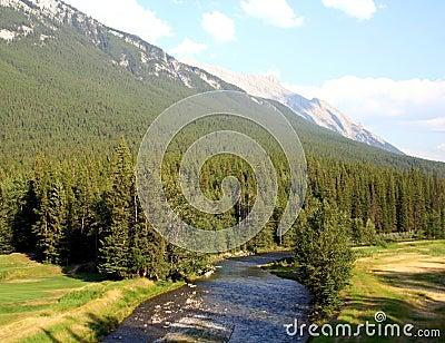 Picturesque Canadian Rockies, Alberta