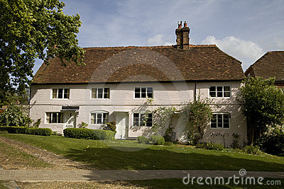 Picturesque English cottage