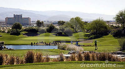 Picturesque Golf Course