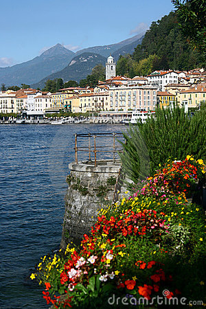 The picturesque Italian lakeside town of Bellagio
