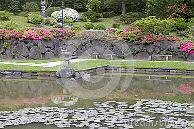 Picturesque Japanese Garden