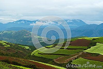 Picturesque land