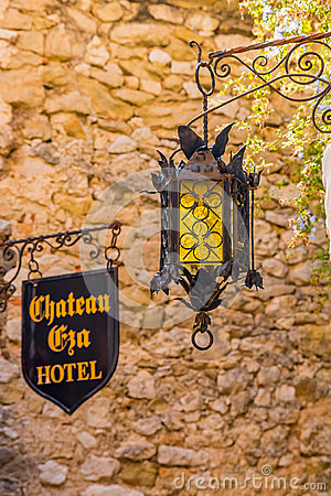 Free Picturesque Medieval Eze Village In South Of France Stock Photo - 82378730