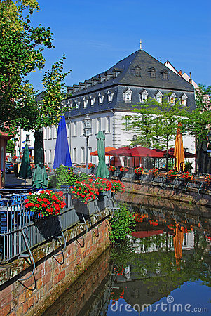 The picturesque old town of saarburg