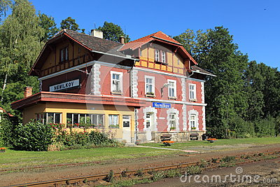 Picturesque railway station