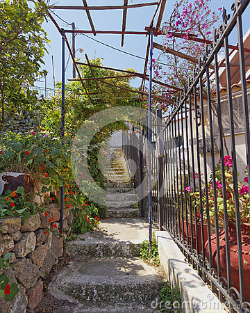 Free Picturesque Stairs, Poros Island, Greece Stock Images - 31700854