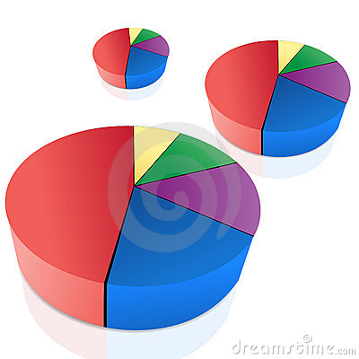 Pie Chart Royalty Free Stock Photos - Image: 18375628