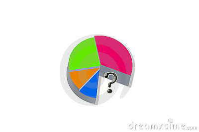 Pie Chart Royalty Free Stock Photography - Image: 896127