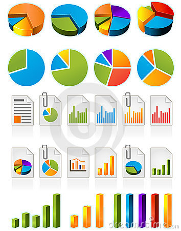 Free Pie Charts Stock Images - 13622844