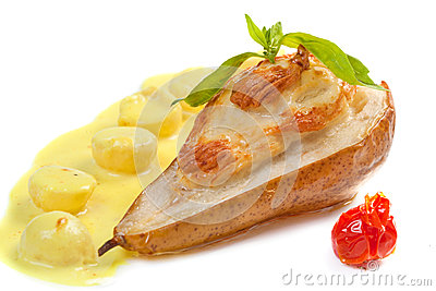 Piec bonkrety z serem