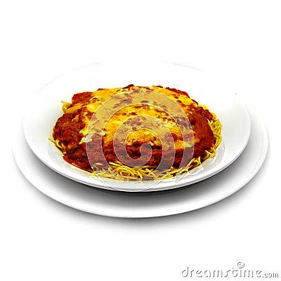 Piec spaghetti