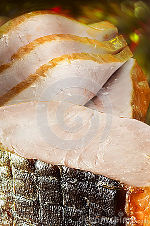 Piece Delicacy Sturgeon Smoked
