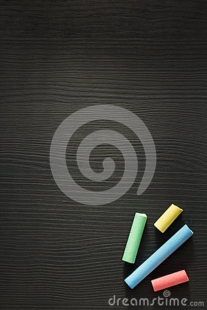Free Piece Of Chalk On Wood Royalty Free Stock Photo - 63593405