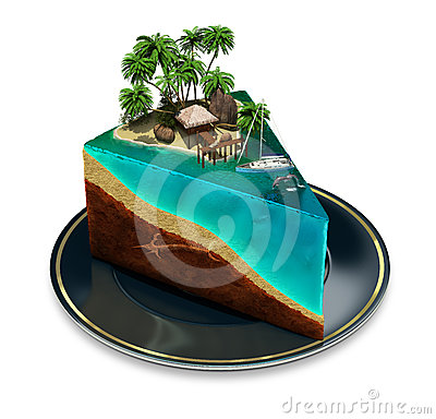Free Piece Of Paradise Royalty Free Stock Photos - 24412988