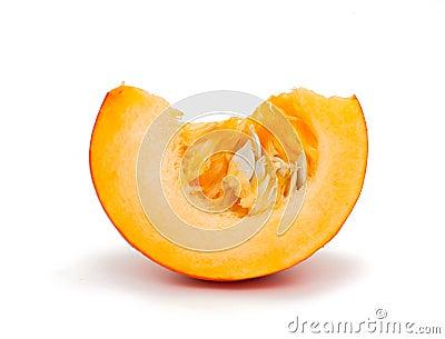 Piece of pumpkin