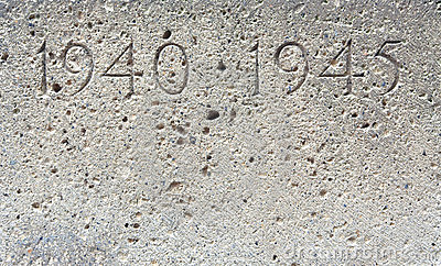 Piedra de la guerra mundial