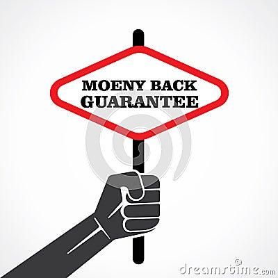 Pieniądze plecy gwarancja