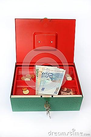 Pieniądze pudełko