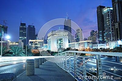 Pieniężny Dubai centrum zawody międzynarodowe