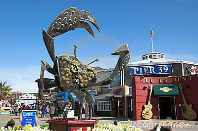 Pier 39 Editorial Stock Photo