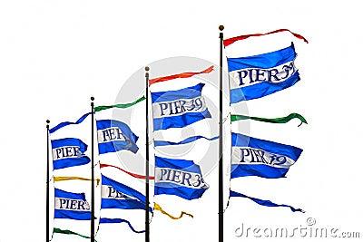 Pier 39 flags