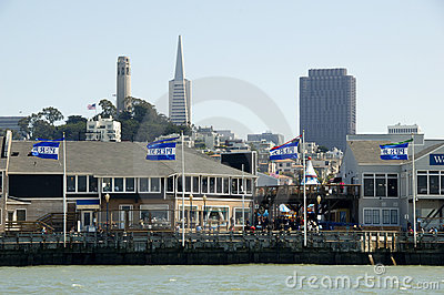 Pier 39 in San Francisco - Editorial Editorial Stock Image