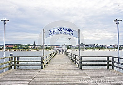 Pier in Ahlbeck