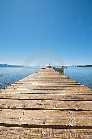 Free Pier At Lake Tahoe Stock Images - 8948564