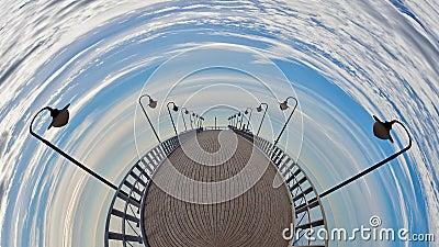 Pier fisheye