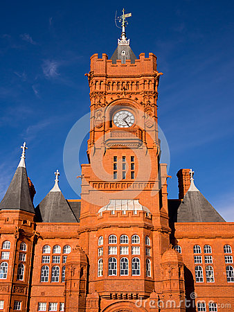 Pier Head building in Cardiff, Wales
