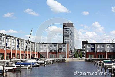 Pier houses