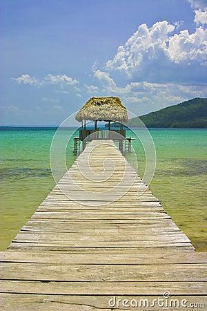 Pier Hut, Guatemala