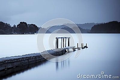 Pier on Loch Ard