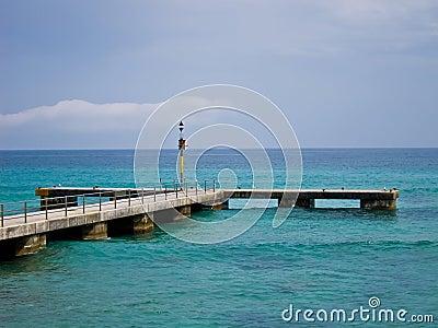 Pier at Mallorca/Majorca