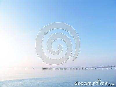 Pier in paradise